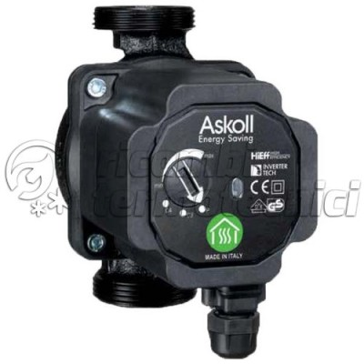CIRCOLATORE ASKOLL  ENERGY SAVING ES 32-60/180