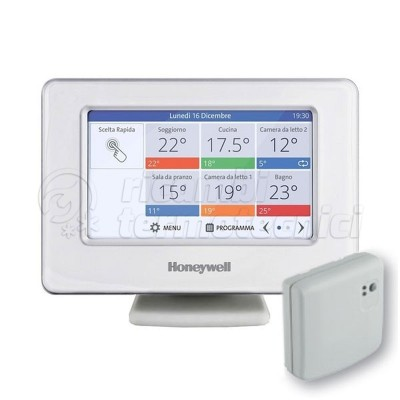 CRONOTERMOSTATO HONEYWELL KIT EVOHOME  WI-FI   CONNECTED PAC