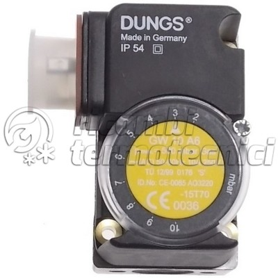 PRESS.GAS DUNGS GW 10 A6 SOST. GW10 A4